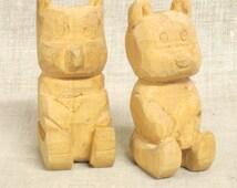 Bear , Folk Art Bear , Hand Carved Bear , Wood Carving , Carved Wood Bear , Carved Wooden Bear , Folk Art , Animal Carving , Carved Animal