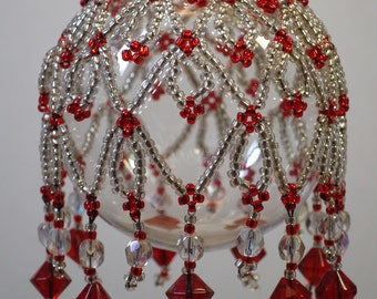 89. Beaded Ornament Cover