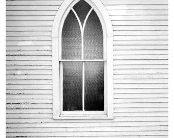 White Church Window