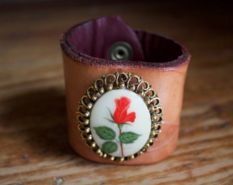 The Antique Rose Cuff