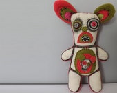 Art Doll Gothic Horror Voodoo Doll