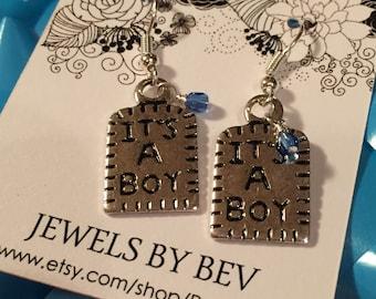 It's a Boy Earrings