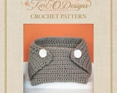 Baby Diaper Cover Crochet Pattern
