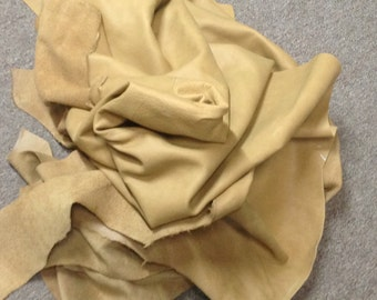 PREM324. Tan Leather Cowhide Partial