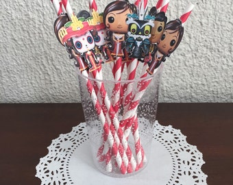 The Book of Life Personalized Banner/ cake topper/ paper straws/ cupcake toppers/ center piece/ welcome sign/ and more.