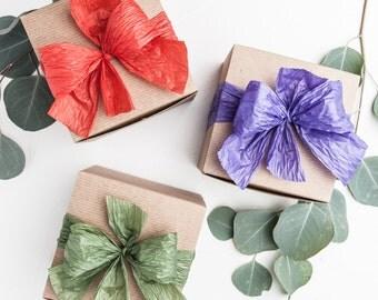 Eco Friendly Gift Box  - Soap,  Soap Dish, Lip Balm and Salve