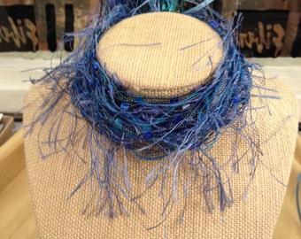 Yarnies? Yes! Choker Style BLUES