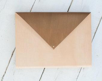 Metallic Envelope Clutch - Sketchbook Design Portfolio Album
