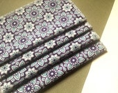 "Set of 4 eco-friendly cloth napkins // 8.5"" x 8.5"" // 100 percent cotton // reusable napkin // modern fabric"