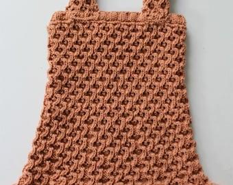 KNITTING PATTERN- Twirly Tank Dress (Sizes 6-12mths, 2-3, 4-5, 6-8 years) PDF pattern