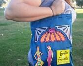 Vintage Barbie & Francie book bag