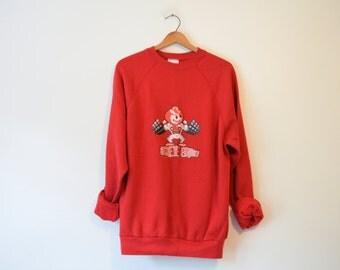 Vintage Ohio State Buckeyes Brutus Sweatshirt