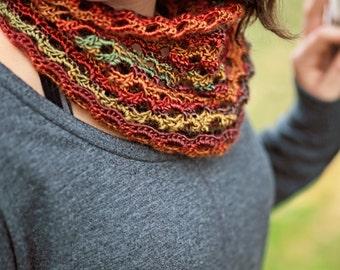 PDF Crochet Pattern - Unforgettable Cowl - Neck Warmer Woman Child Teen Toddler Easy Scarf