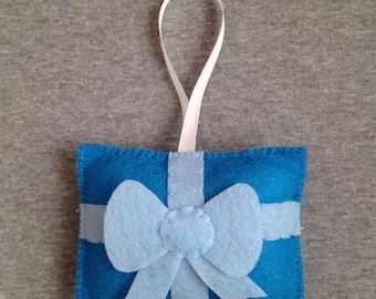 Gift Christmas Ornament with a Pocket for a Gift Card or Money