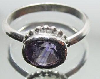 Amethyst ring size 5.5