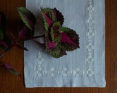 Vintage Swedish Linens: Pearly Periwinkle