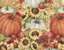 Pumpkin Field Harvest - Springs Creative - Half Yard