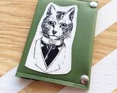 Here kitty kitty kitty Travel Wallet