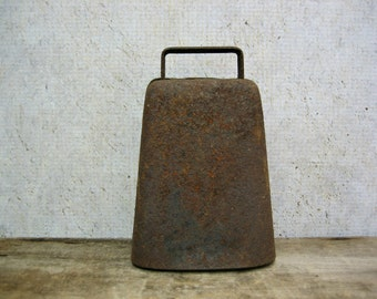 Antique Rusty Cowbell