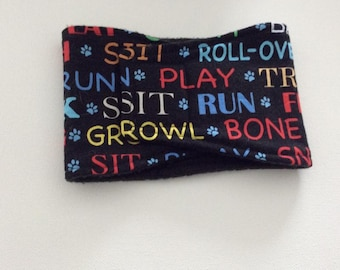 Dog Diaper - Male Dog Belly Band - Belly Wrap - Puppy Words - Available in all Sizes