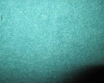 Green flannel 3 1/2 yds plus