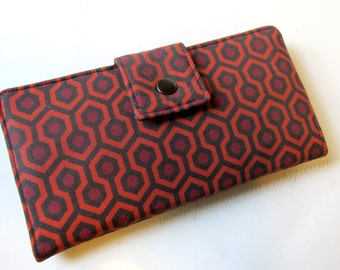 Women wallet - Room 237 - haunted hotel - The shining - Custom clutch - handmade  purse - gift idea for her -