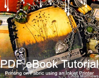 Inked Cloth eBook - Instant Download