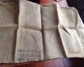 2 Old Burlap Bags