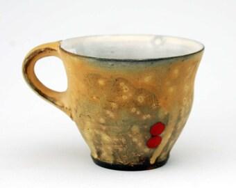Mug with Red Circles