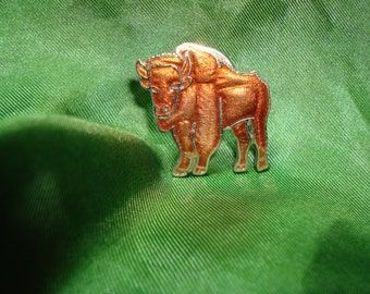1994 Copper Colored Buffalo Pin.