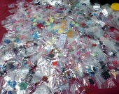 70 Bags Mix Beads charms gemstone metal findings clearance jewelry making lot detash bead lot