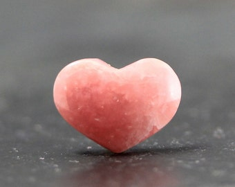 Rhodochrosite Pink Heart Shape - Gemstone, Natural, Loose Stone, Wire Wrapping Cabochon, Bezel, Beads, Findings, Settings, Pendant Bail