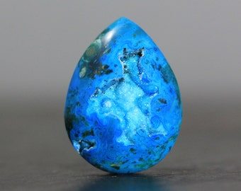 CLEARANCE Ball Blue Druzy Cabcohon, Geode Polished Drusy Crystal Jewelry Pendant Ring Bracelet Design Setting Gemstone Finding Charm (10891)