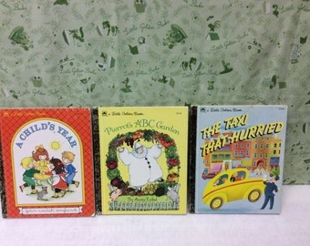 3 Little Golden Books for the 50th Anniversary