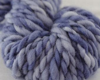 Hand spun & dyed yarn