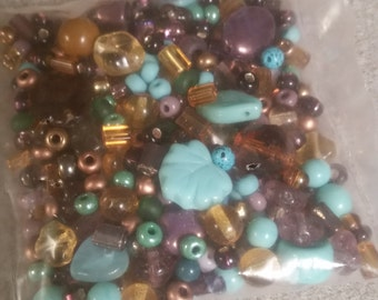 Mixed bag of beads