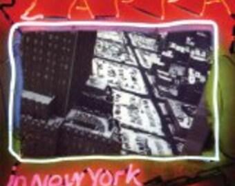 Frank Zappa vinyl record - Original - Zappa in New York vinyl - Vintage Record lp in VG++ Condition.