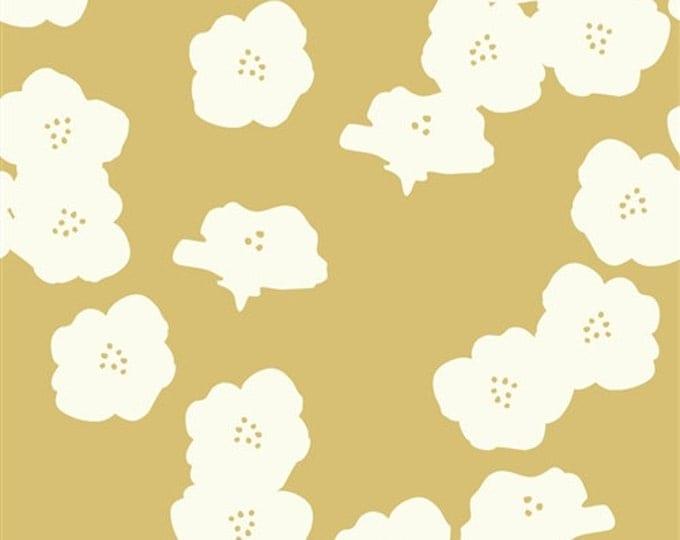 Organic DOUBLE GAUZE Fabric - Poppies Sun