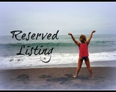 Reserved Listing for Tonya