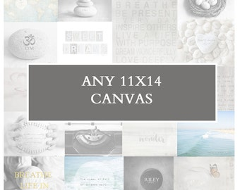Any 11x14 Canvas Art Wrap, Gallery Wrap Canvas, Giclee, Wall Art, Home Decor, Personalized Art, Living Room Art