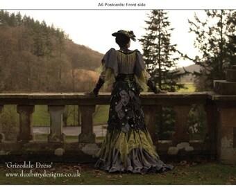 Grizedale Dress Postcard