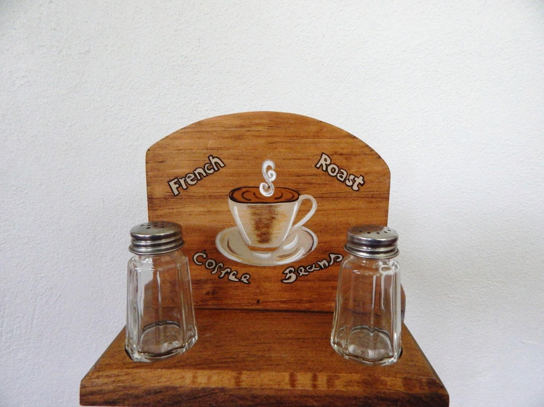 Coffee Theme Kitchen Decor Napkin Holdercoffee Theme Decorcoffee Kitchen Decorwooden
