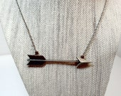 Arrow Necklace - Layering Bohemian  Necklace