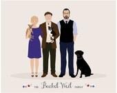 Additional Pet for Custom Family Portrait