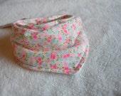 Baby Bandana Scarf: Floral Vintage Flannel