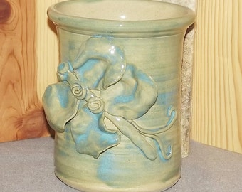 Original Vase Hand Thrown with Bug Attached
