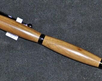 Handmade Lignum Vitae Wood Slimline Style Pen 16-095