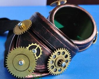 Steampunk Goggles Post Apocalypse Victorian Glasses Road Warrior Victorian Goggles diesel punk