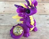 Purple and Yellow Dragon