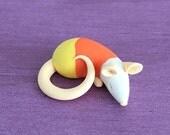 Sleeping Candy Corn Rat